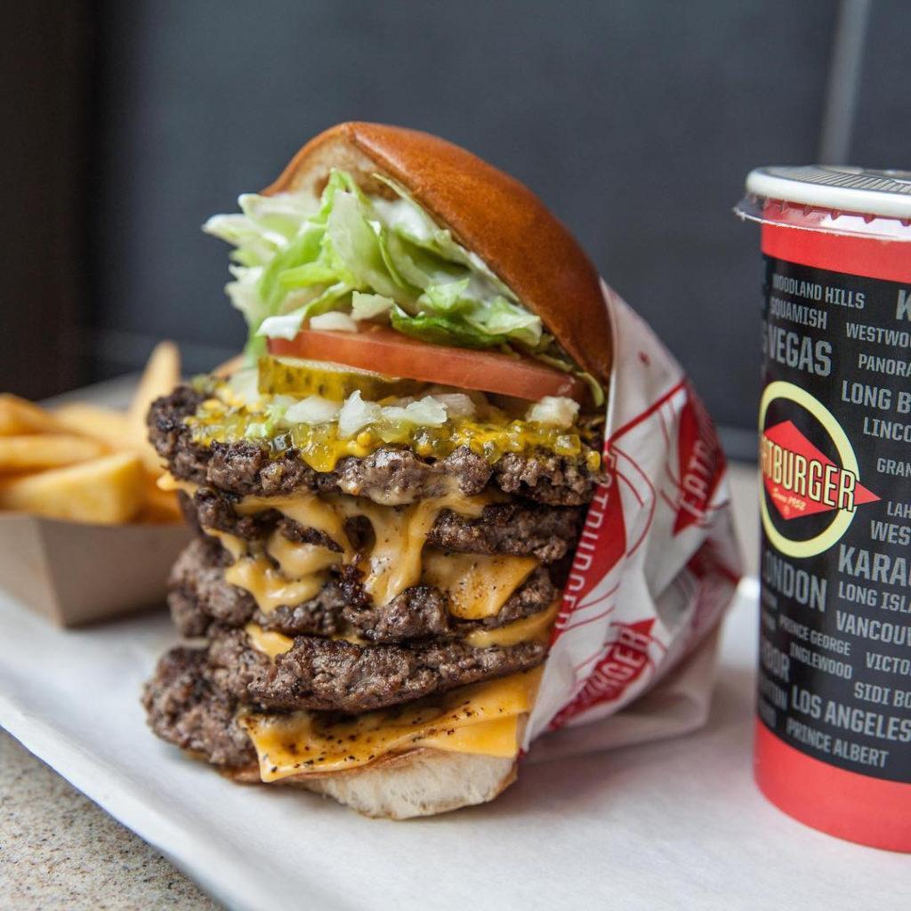 美式经典汉堡FatBurger下月登陆新加坡-热点新加坡