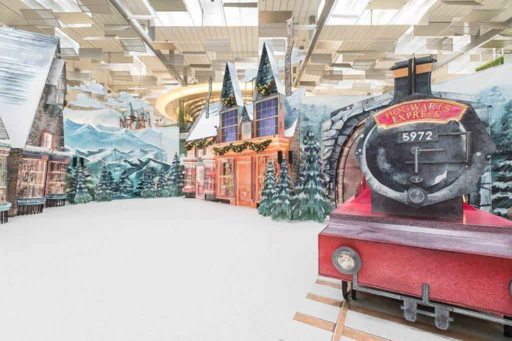 经典场景神还原   魔法世界降临樟宜机场-热点新加坡